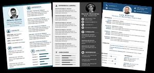 Formatos de curriculum vitae de ejemplos