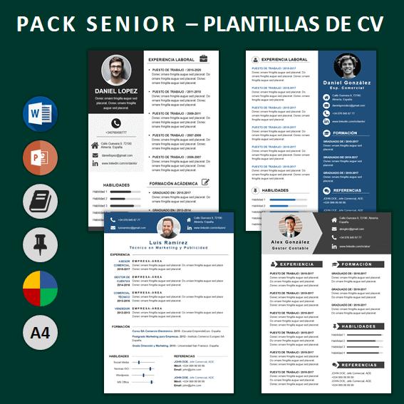Pack Currículum SeniorCV para mejorar tu CV