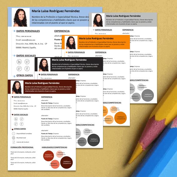 Modelos de Curriculum Vitae Infocircle